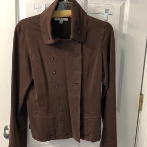 Cabi Brown double breasted jacket